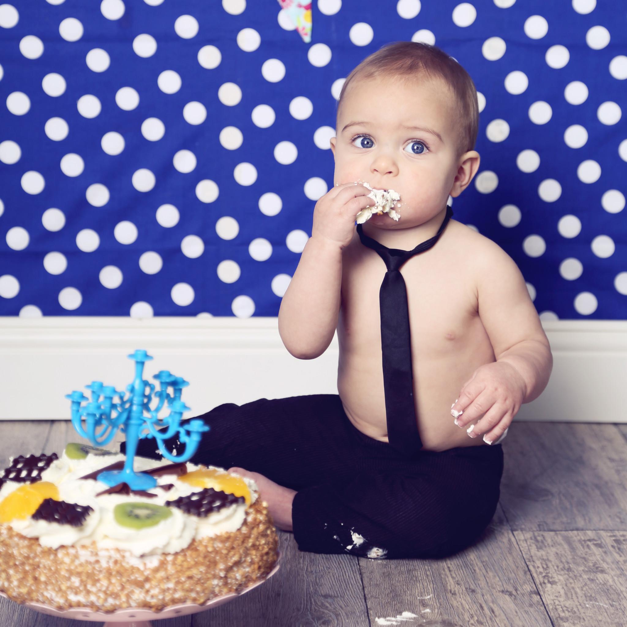Taartsnoetjes - Cake smash- Suusfotosjop